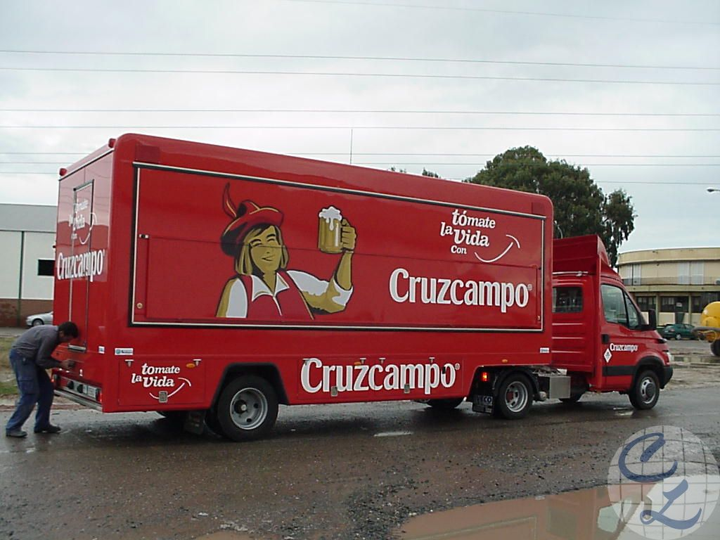 Bar cruzcampo - foodtruck