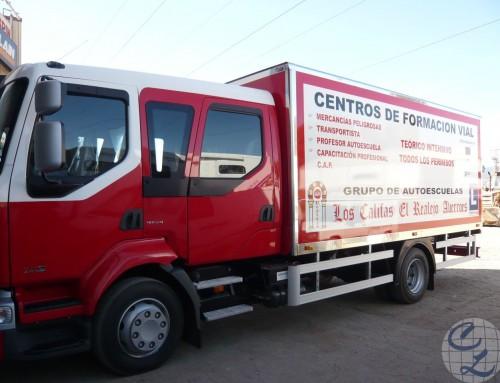 Camión rigido Los Califas
