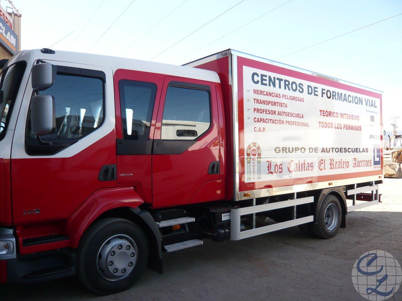 Camión rígido Los Califas