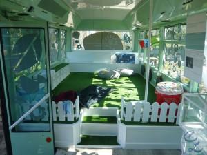 Jardín bus
