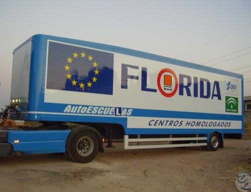 Semiremólque autoescuela Florida 1