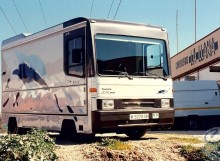 vehículo foto composición