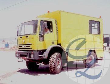 vehículo taller 4x4