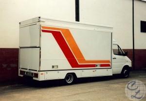 vehículo venta de cuadros